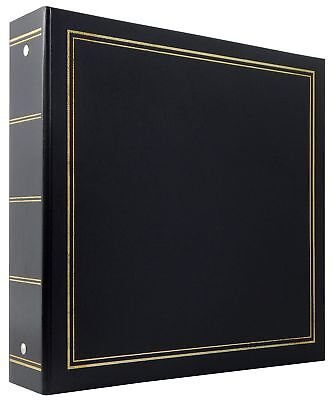 "MBI by MCS Industries Library Collection 400 Pocket 4 x 6"" Photo Album in Black"