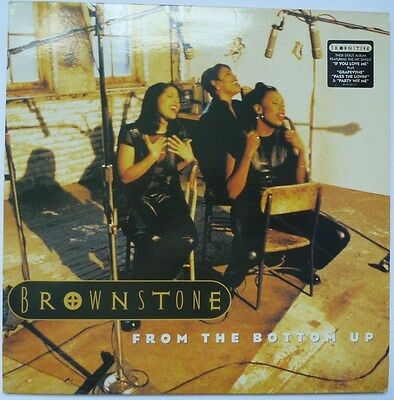 "Brownstone - From The Bottom Up - 12"" Vinyl Lp"