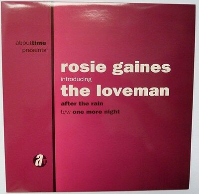 "ROSIE GAINES introducing THE LOVEMAN - AFTER THE RAIN - 12"" VINYL"