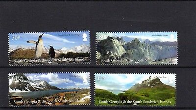 South Georgia 2017 Landscapes MNH Set