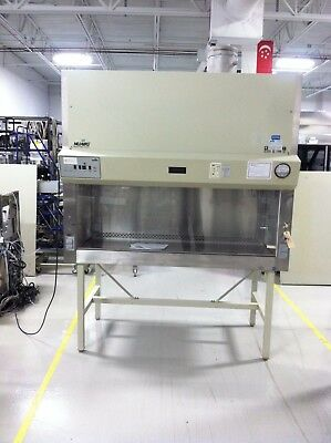 Nuaire NU-427-600 BioSafety Cabinet, Class II, Type B1, 115V, 60 Cycles