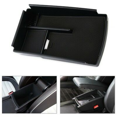 Car Armrest Secondary Storage Glove Box Pallet Coin Tray for VW Passat B6 B7 CC