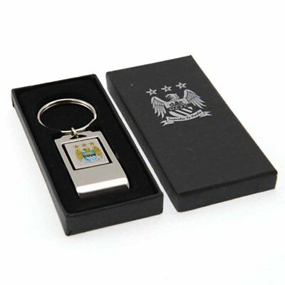Manchester City Official F.C. Keyring and Bottle Opener. Metal Football Keyring.