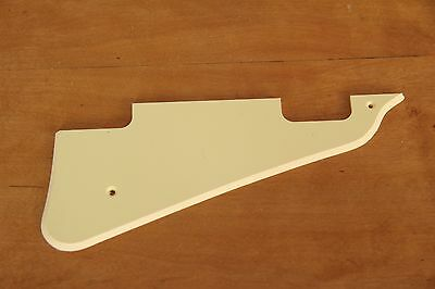 LP DELUXE or P90 STYLE PG CREAM f. GIBSON® LES PAUL® IVORY CREME SOLID PICKGUARD