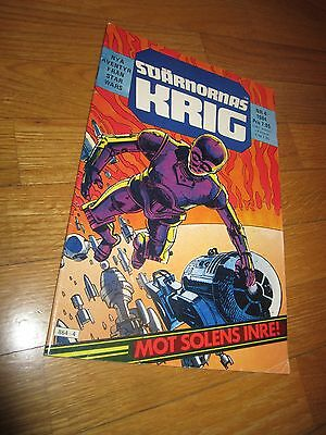 Comic - STAR WARS, in SWEDISH language, 1984, NR 4