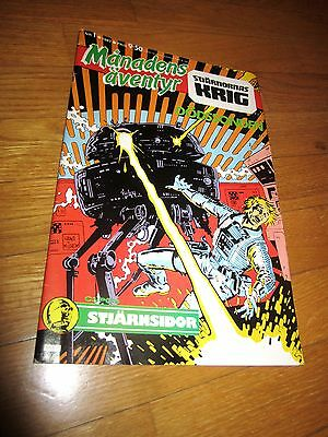 Comic - STAR WARS, in SWEDISH language, 1987, NR 1