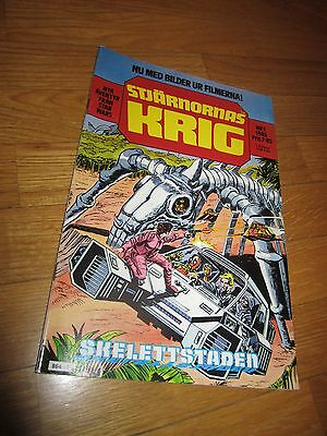 Comic - STAR WARS, in SWEDISH language, 1985, NR 1
