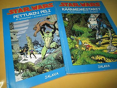 Comics - STAR WARS, in FINNISH language