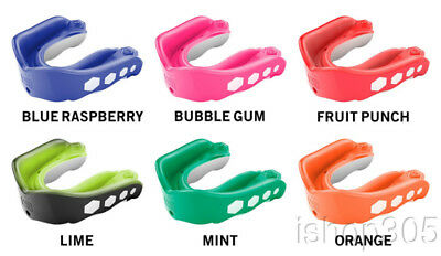 Doctor Shock Gel Max Flavor Fusion Adult Mouthguard Convertible Tether