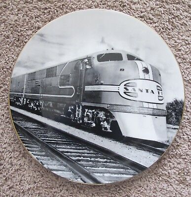 """BNSF Safety Plate -2003- """"The Super Chief- 1937"""""""
