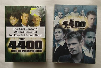 The 4400 Season One and Two Trading Cards Base Sets