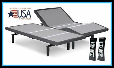 Split Queen Adjustable Bed >> New Split Queen Leggett Platt Simplicity Adjustable Bed