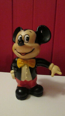 Vintage Walt Disney Productions Mickey Mouse bank made in korea