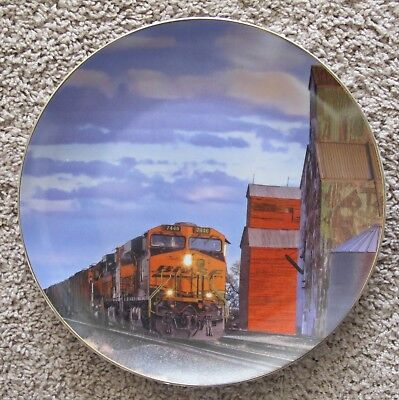 """BNSF Safety Plate -2010- """"Rural Skyscrapers"""""""