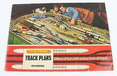 Hornby Railways HO scale track plans 1976 4th edition used