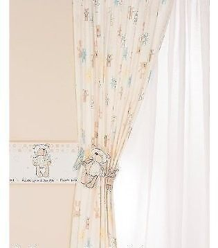 Long Please look after me curtains with tie backs D 182 W 171