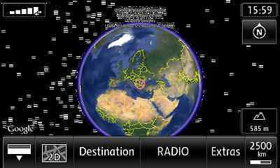 VW RNS850 Activate Google Earth