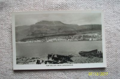 Postcard-- Fort William From Camusnagaul