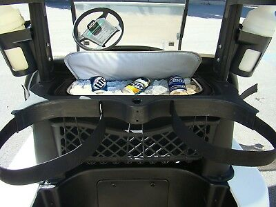 The Perfect Fit Golf Cart Cooler Bag Caddy - Easily Sneak Beer Into The Golf