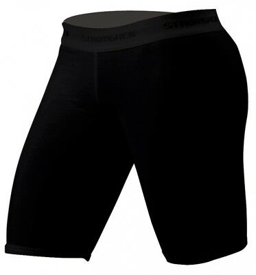 (X-Large, Black) - Cramer Women's Compression Shorts for Quads, Groyne and