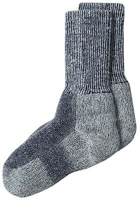 (Navy Blue, Kids Small- 9- 12UK) - Thorlo Kids Walking Sock. Thorlos