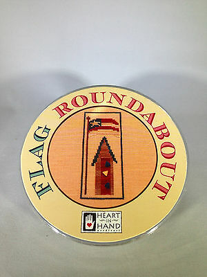 Heart in Hand Flag Roundabout Cross Stitch Sewing Kit