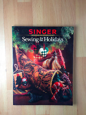 Singer Sewing for the Holidays Cross Stitch Sewing Pattern