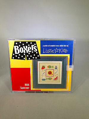 Lizzie Kate Boxers Summer Cross Stitch Sewing Kit