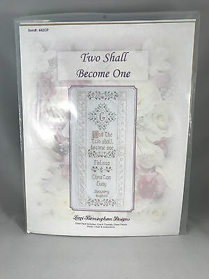 Lorri Birmingham Two Shall Become One Cross Stitch Sewing Pattern