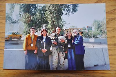 Iraqi Freedom OIF 1st Armored Photograph 3 x 5 picture w/ local women officials