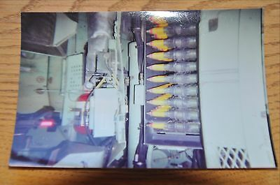 Iraqi Freedom OIF 1st Armored Photograph 5 x 7 25mm ammunition in the Bradley