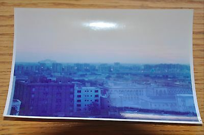 Iraqi Freedom OIF 1st Armored Photograph 5 x 7 looking over the Baghdad skyline