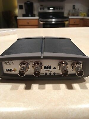 Axis 240Q Video Server encoder