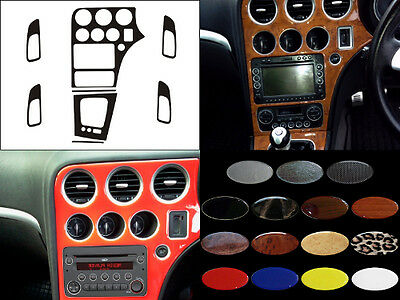 ALFA ROMEO 159 with manual gearbox - Dash Trim Kit RHD - 15 colours available