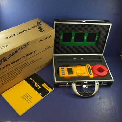 New Fluke 1630 Earth Ground Clamp, Box, See Details