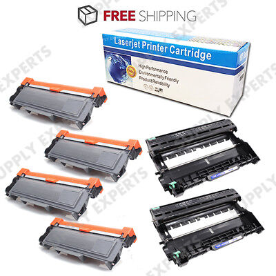 2 DR630 4 TN660 Toner Drum for BROTHER HLL2340DW 2380DW DCPL2540DW MFCL2700DW