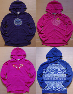 Roxy Girls Zip Up Pullover Hoodie size 8 10 12 14 NWOT Jumper Jacket