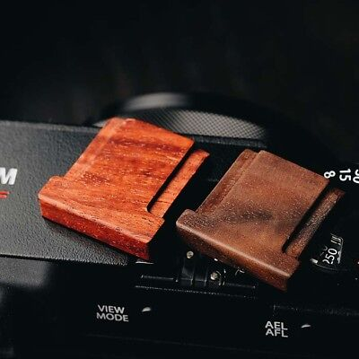 Wooden Wood Hot Shoe Cover For Fuji Fujifilm XT20