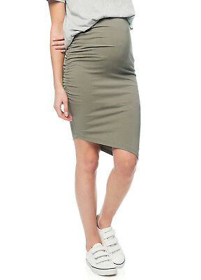 NEW - Bae - Stay Up Late Skirt in Sage - Maternity Skirt