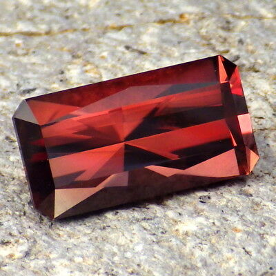 RED OREGON SUNSTONE 6.76Ct FLAWLESS-TOP INVESTMENT / FOR HIGH-END JEWELRY-VIDEO