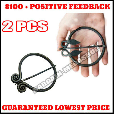 Medieval Style Penannular Brooch Ideal For Costume, Re-enactment,Stage Or LARP J