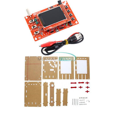 "DSO138 2.4"" TFT Digital Oscilloscope Acrylic Case DIY Kit SMD Soldered"
