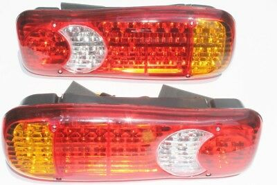 46 Led Rear Tail Light Truck Fits for Scania Volvo Daf Man Iveco Mercedes 2 x 24