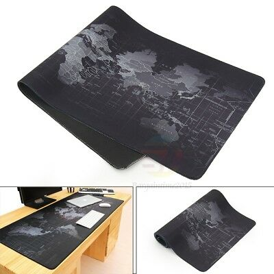 Large Size 800x300 mm World Map Speed Game Mouse Pad Mat Laptop Gaming Mousepad
