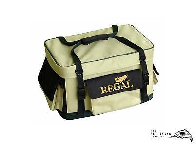 Regal Vise Fly Tying Kit Bag w/ Vise Portfolio and Tool Wrap | Fly Tying
