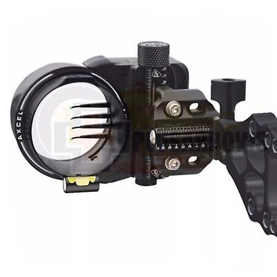 Axcel Armourtech 5 or 7 Pin Micro Tune Archery Bow Hunting Sight