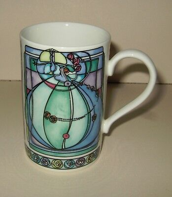 Dunoon Stoneware Mug - Mackintosh Design By Joanne Triner