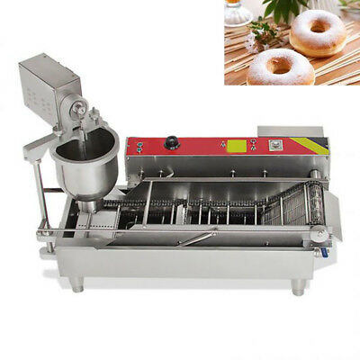 Commercial Automatic GAS&Electric Donut Making Machine Donut Fryer 110V/220V