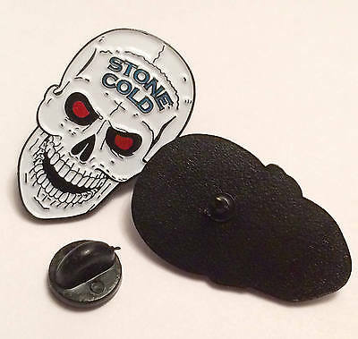Stone Cold WWE, WWF, WCW, ECW, Hasbro Enamel Pin 35MM Badge
