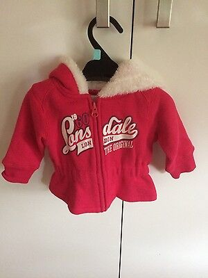 Lonsdale Baby Girl Jacket
